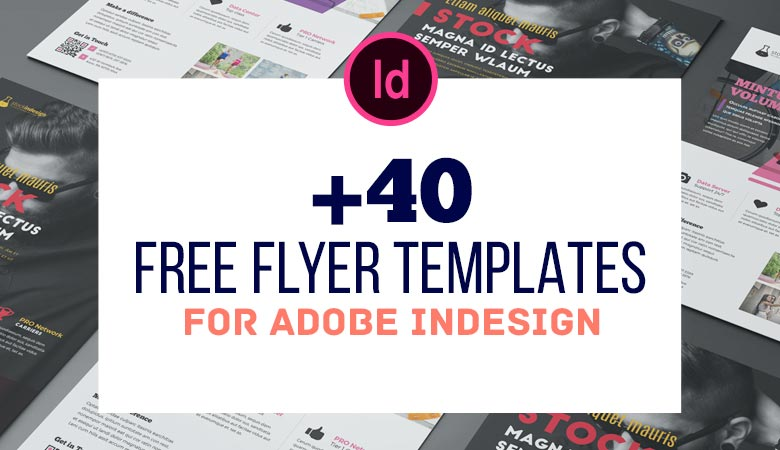 +40 Best Free Flyer Templates in Adobe InDesign