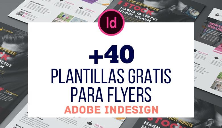 +40 Excelentes Plantillas Gratis de Flyers para InDesign