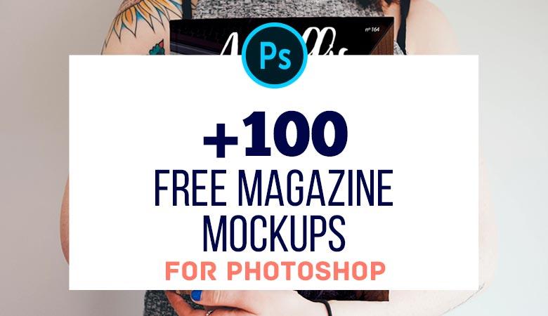 100+ Free Magazine PSD Mockups to Download