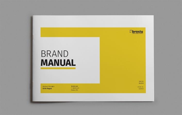 Brand Manual Landscape Template