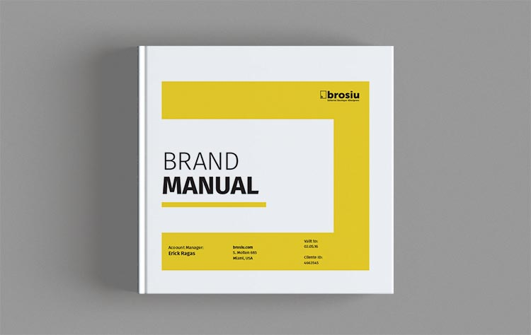 Brand Manual Square Template