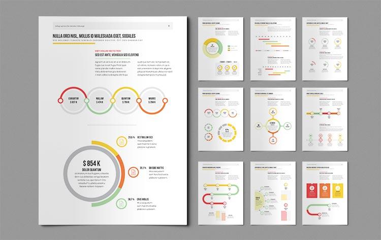 Infographic Elements for InDesign v1